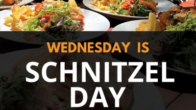 Wednesday Schnitzel Night